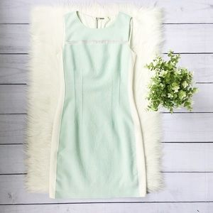Elie Tahari Light Blue Sleeveless Mini Dress